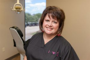 Cindie Pierce, registered dental hygienist at Bellaire Dental Excellence